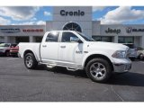 2014 Bright White Ram 1500 Laramie Crew Cab 4x4 #108144210