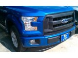 2015 Blue Flame Metallic Ford F150 XL SuperCab #108144029