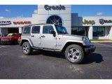2016 Billet Silver Metallic Jeep Wrangler Unlimited Sahara 4x4 #108144207