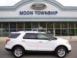 2013 Oxford White Ford Explorer XLT 4WD #108144181