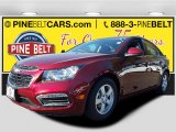 2016 Siren Red Tintcoat Chevrolet Cruze Limited LT #108143856
