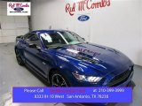 2016 Deep Impact Blue Metallic Ford Mustang GT/CS California Special Coupe #108189887
