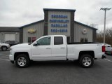2016 Summit White Chevrolet Silverado 1500 LTZ Z71 Double Cab 4x4 #108190030