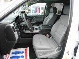 2016 Chevrolet Silverado 1500 LTZ Z71 Double Cab 4x4 Dark Ash/Jet Black Interior