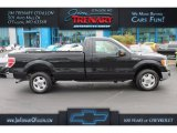 2014 Tuxedo Black Ford F150 XL Regular Cab #108189874