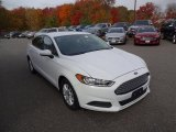 2015 Oxford White Ford Fusion S #108202347