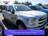 2015 Ingot Silver Metallic Ford F150 Lariat SuperCrew #108205055