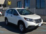 2013 White Diamond Pearl Honda CR-V LX AWD #108205332