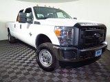 2015 White Platinum Ford F250 Super Duty XL Crew Cab 4x4 #108205228