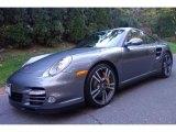 2012 Meteor Grey Metallic Porsche 911 Turbo S Coupe #108205046