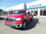 2007 Radiant Red Toyota Tundra SR5 Double Cab 4x4 #108205045