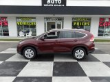 2013 Basque Red Pearl II Honda CR-V EX-L #108230744