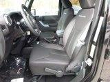 2016 Jeep Wrangler Unlimited Rubicon 4x4 Black Interior