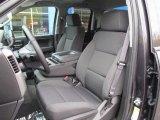 2016 Chevrolet Silverado 1500 LT Z71 Double Cab 4x4 Dark Ash/Jet Black Interior