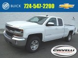 2016 Summit White Chevrolet Silverado 1500 LT Double Cab 4x4 #108259872
