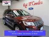 2016 Bronze Fire Metallic Ford Explorer Limited #108259671