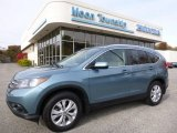 2014 Mountain Air Metallic Honda CR-V EX-L AWD #108259801