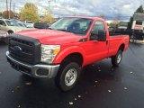 2015 Vermillion Red Ford F250 Super Duty XL Regular Cab 4x4 #108259895