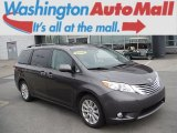 2011 Predawn Gray Mica Toyota Sienna Limited AWD #108259735