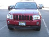 2006 Inferno Red Crystal Pearl Jeep Grand Cherokee Laredo #1015014