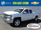 2016 Summit White Chevrolet Silverado 1500 LTZ Double Cab 4x4 #108287167
