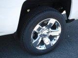 2016 Chevrolet Silverado 1500 LTZ Double Cab 4x4 Wheel