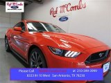 2016 Competition Orange Ford Mustang GT Premium Coupe #108286926