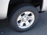 2016 Chevrolet Silverado 1500 LT Z71 Double Cab 4x4 Wheel