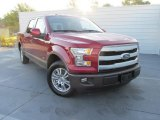 2015 Ruby Red Metallic Ford F150 Lariat SuperCrew #108287111