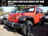 2016 Firecracker Red Jeep Wrangler Unlimited Sport 4x4 #108287013