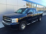 2011 Imperial Blue Metallic Chevrolet Silverado 1500 LS Extended Cab 4x4 #108286908