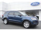 2016 Blue Jeans Metallic Ford Explorer FWD #108287077