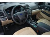 2016 Ford Explorer FWD Medium Light Camel Interior