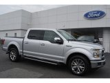 2015 Ingot Silver Metallic Ford F150 Lariat SuperCrew #108287074