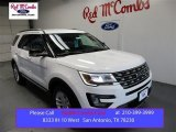 2016 Oxford White Ford Explorer XLT #108315685
