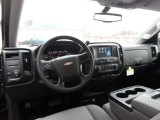 2016 Chevrolet Silverado 1500 WT Double Cab 4x4 Dark Ash/Jet Black Interior