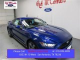 2016 Deep Impact Blue Metallic Ford Mustang V6 Coupe #108315684