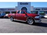 2014 Deep Cherry Red Crystal Pearl Ram 1500 Big Horn Quad Cab #108315844