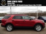 2016 Ruby Red Metallic Tri-Coat Ford Explorer 4WD #108315741