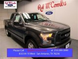 2015 Magnetic Metallic Ford F150 XL SuperCab #108315667