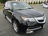 2011 Crystal Black Pearl Acura MDX  #108316026