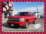 2011 Victory Red Chevrolet Silverado 1500 LTZ Crew Cab 4x4 #108353597