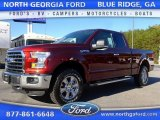 2015 Bronze Fire Metallic Ford F150 XLT SuperCab 4x4 #108353426