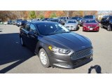 2016 Magnetic Metallic Ford Fusion S #108369561