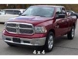 2014 Deep Cherry Red Crystal Pearl Ram 1500 Big Horn Quad Cab 4x4 #108375129