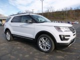 2016 Oxford White Ford Explorer XLT 4WD #108374963