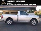 2012 Bright Silver Metallic Dodge Ram 1500 ST Regular Cab 4x4 #108374947