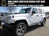 2016 Bright White Jeep Wrangler Unlimited Sahara 4x4 #108374937