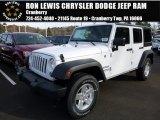 2016 Bright White Jeep Wrangler Unlimited Sport 4x4 #108374934