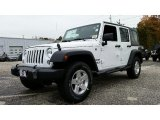 2016 Bright White Jeep Wrangler Unlimited Sport 4x4 #108374836